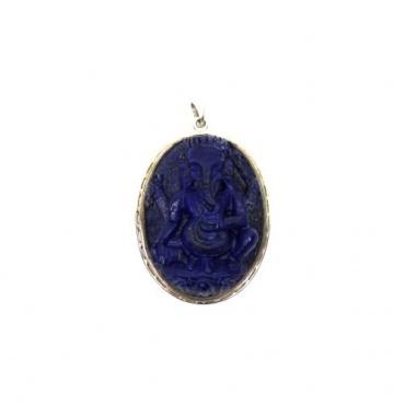 Ganesh pendentif Lapis Lazuli