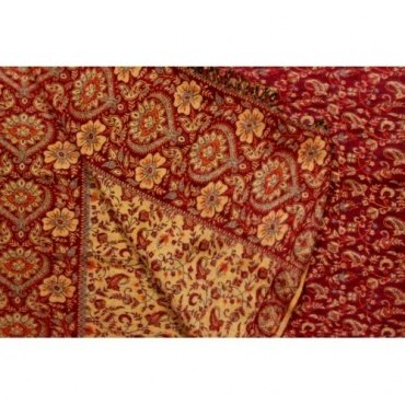 Couverture Châle Ethnic rouge