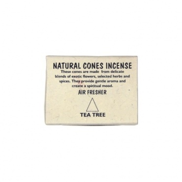Cônes encens Tea Tree
