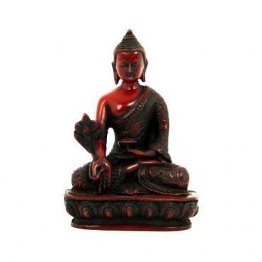 Bouddha Médecine Statue acajou