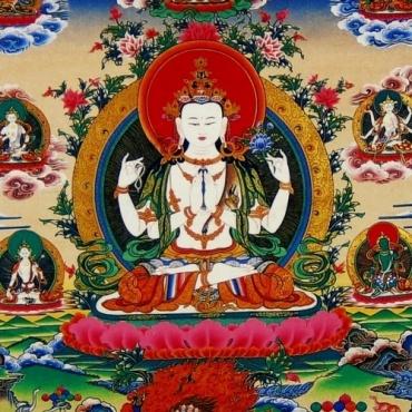 Image du Bouddha de Compassion