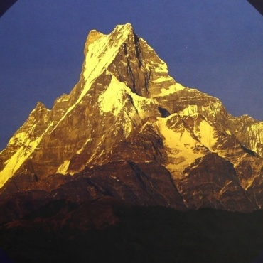 Tapis de souris Mt. Fishtail Himalaya
