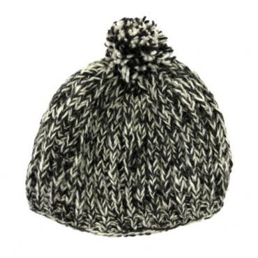 Bonnet mode gris chiné