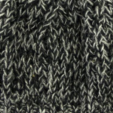 Bonnet mode rouge noir et gris chiné