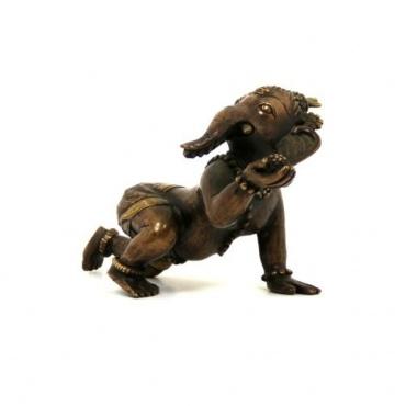 Bébé Ganesh Elephant Statue