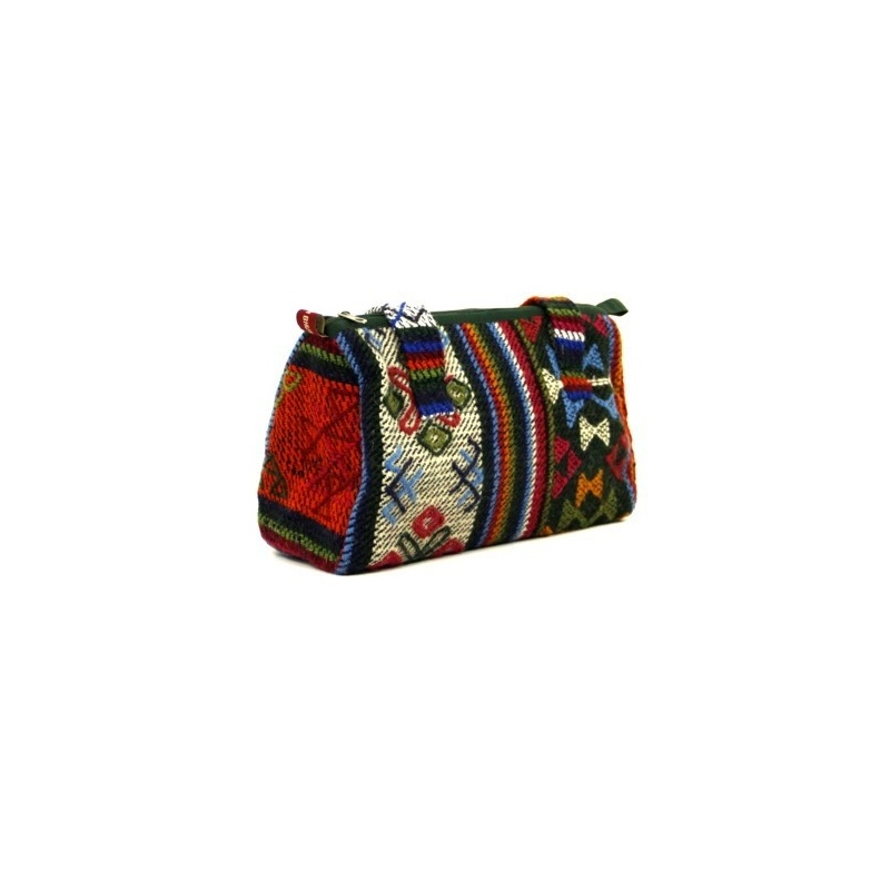 f5b13ec22a sac tissé en laine original et coloré, pièce unique provenance ...