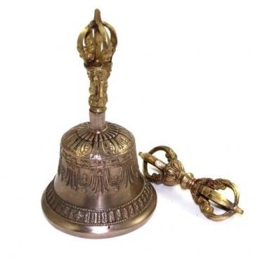 Cloche tibétaine et foudre GM