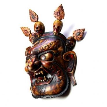 Masque divinité courroucée