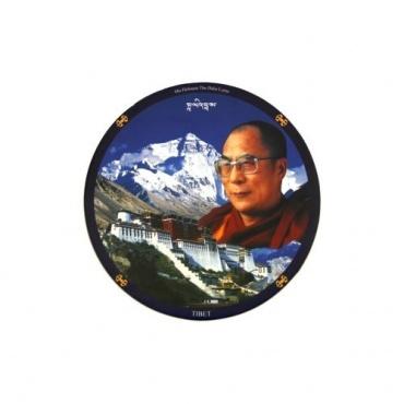 Tapis de souris Tibet et Dalaï-Lama