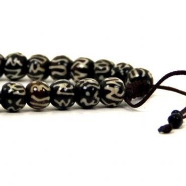 bracelet mala en os - Grande taille