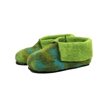 Pantoufles enfants lutin vert 30 - 31