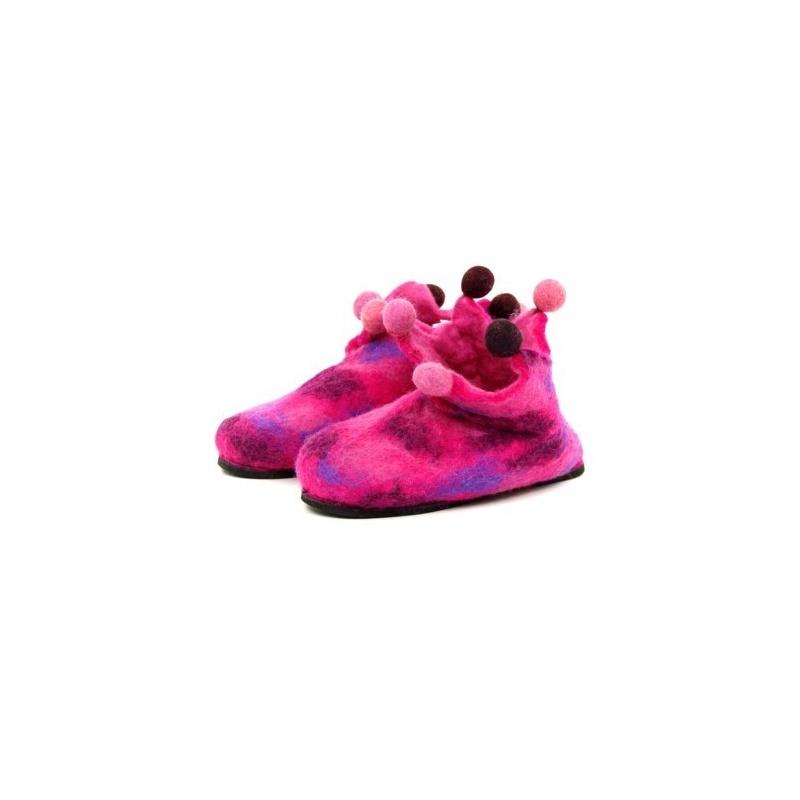 Pantoufles chausson rose 28 - 29