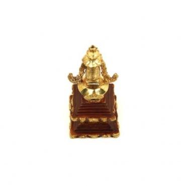 Stupa - Chorten cuivre et or