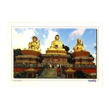 Image Chenrezi Bouddha Guru Rinpoché