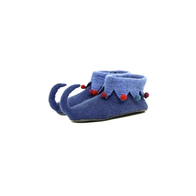Pantoufles lutin bleu 37 à 40