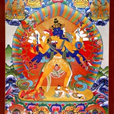 Poster Roue du temps - Kalachakra