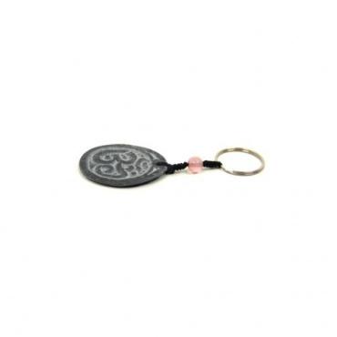 Porte-clé OM original en pierre AUM
