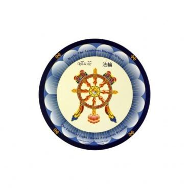 Tapis de souris Roue du Dharma