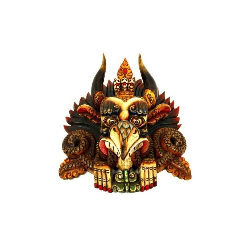 Masque  -  Tête de Garuda