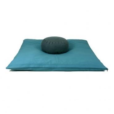 Tapis de méditation Bleu canard