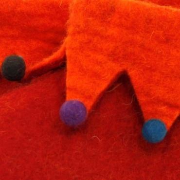 Pantoufles lutin rouge 35 à 44