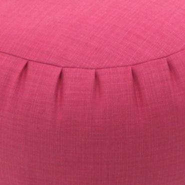 Coussin de méditation couleur rose millet bio