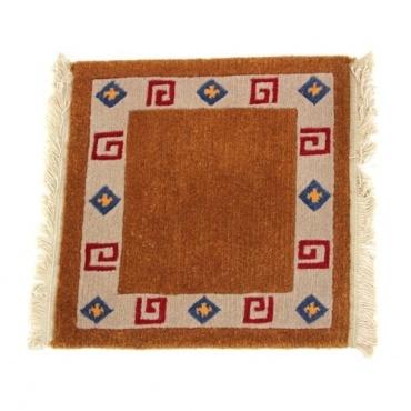 Tapis tibétain laine ethno