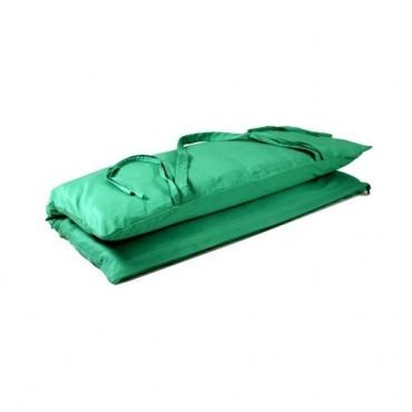 Tapis de méditation vert turquoise