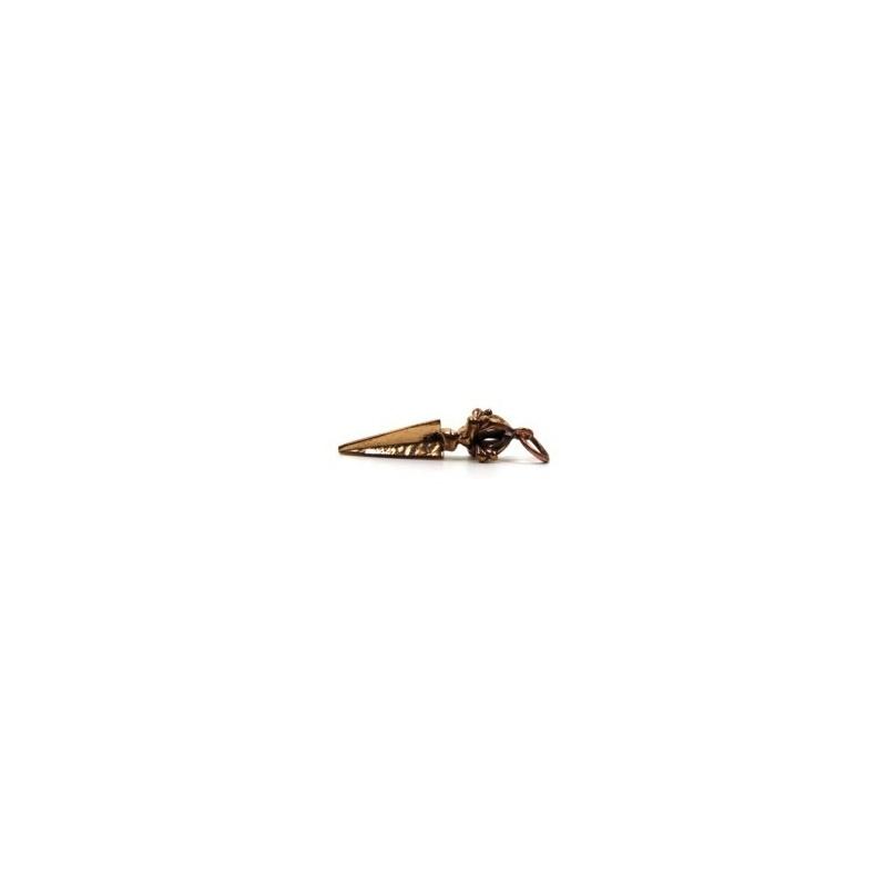 Petit Pendentif Phurbu en cuivre