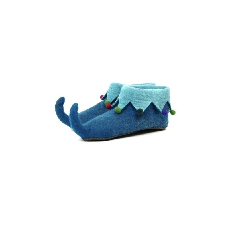 Pantoufles lutin bleu canard 37 à 45