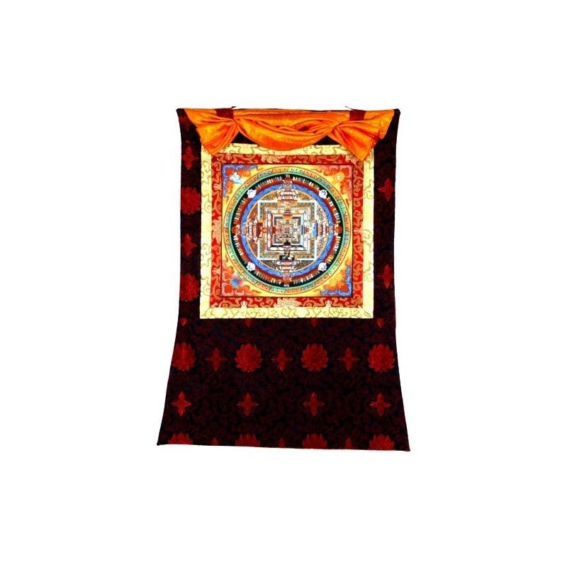 Tangka Mandala du Kalachakra et or