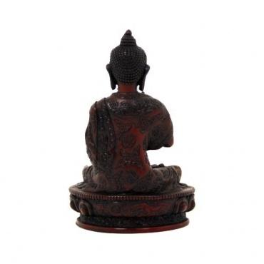Statue Bouddha Protection en résine