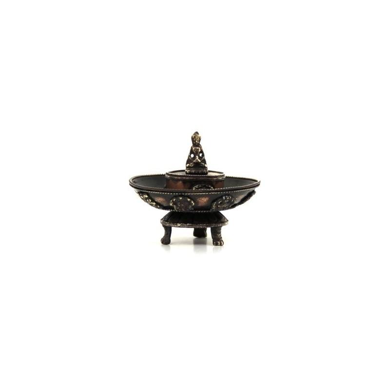 Support à encens Bouddha et Porte-bonheur