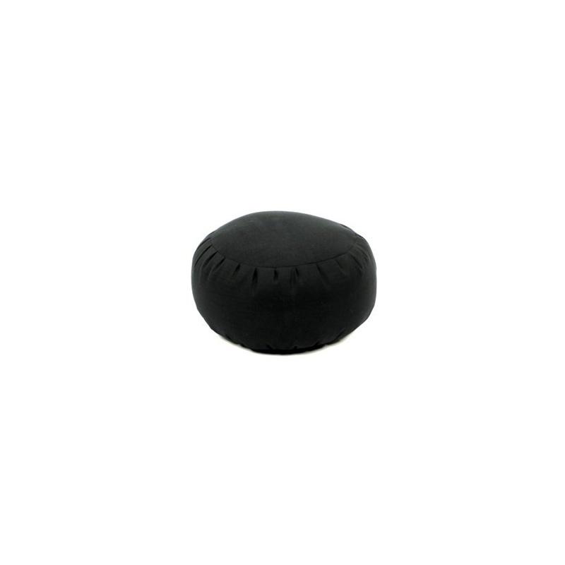 Coussin de méditation couleur noir millet bio