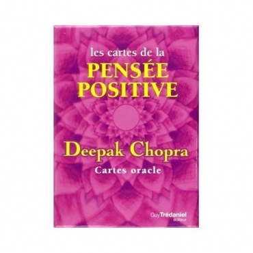 Les cartes Pensée Positive deepak Chopra