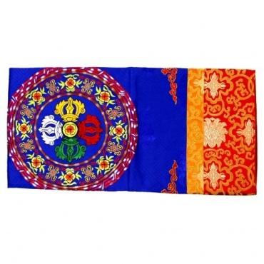 Nappe double vajra pour Autel bouddhiste