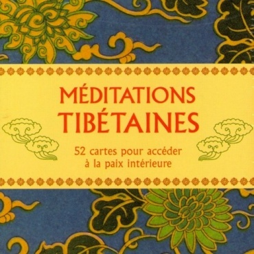 Méditations Tibétaines - Jeu de cartes