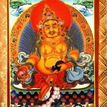 Porte-bonheur Jambhala - La Richesse