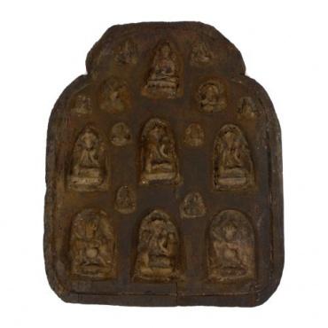 Tableau bouddhiste ancien