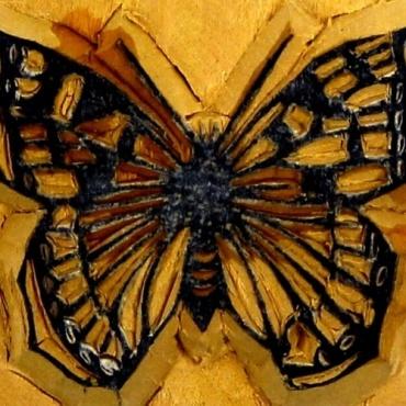 Tampon encreur Papillon