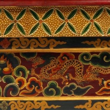 Table bouddhiste Tibétaine pour l'étude