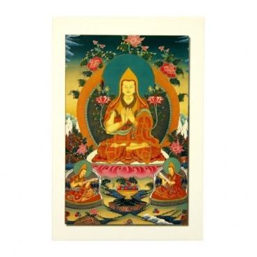Carte postale de Tsong Khapa
