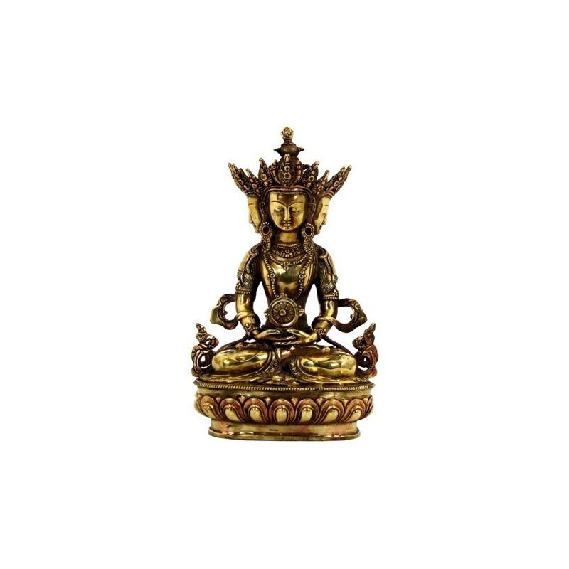 Statue Vairochana à 4 visages - Sarvavid