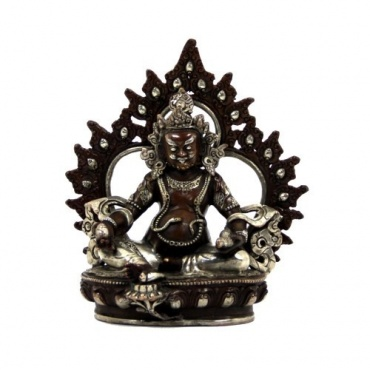 Statue de Dzambhala - Jambhala en bronze