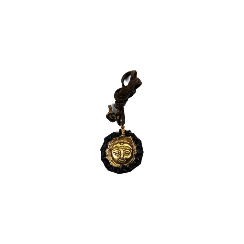 Pendentif Amulette Soleil Tibétain