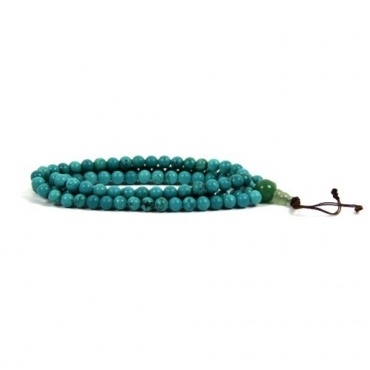 Mala collier perles turquoise