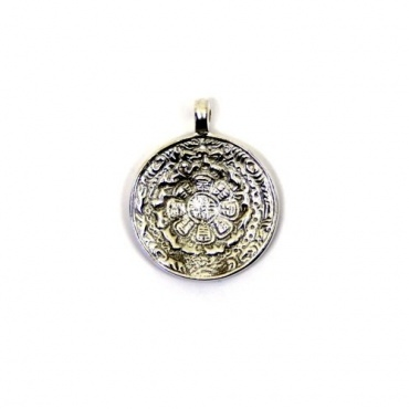 Tortue astrologique - Pendentif Tibétain