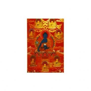 Carte postale Image Bouddha Médecine