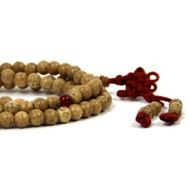 Collier bouddhiste graines de lotus