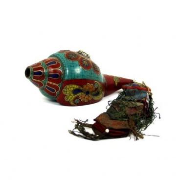Conque Tibétaine coquillage porte-bonheur